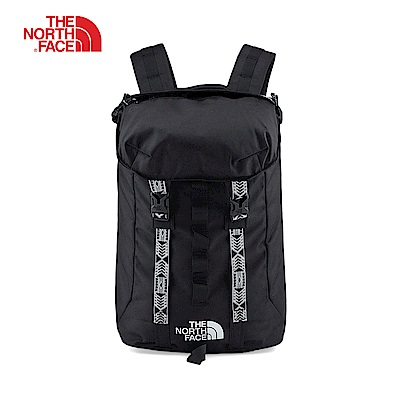 The North Face北面男女款黑色舒適防護休閒後背包 3KUTKY4
