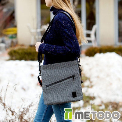 【METODO防盜包】Shoulder Bag 不怕割斜背包/肩包/方包TSL-204黑