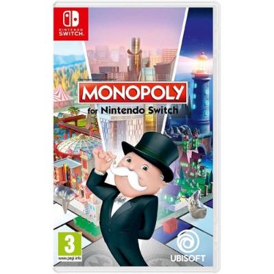 地產大亨 Monopoly -Nintendo Switch 英日文歐版