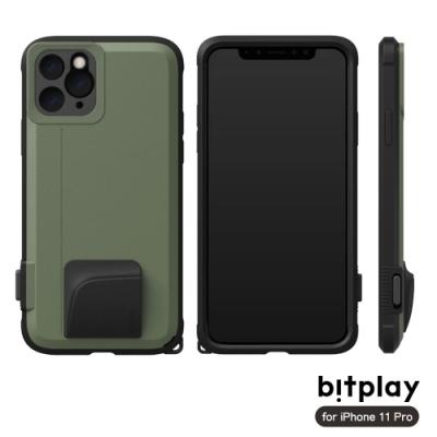 bitplay SNAP! iPhone 11 Pro 相機快門鍵全包覆軍規防摔相機殼-綠