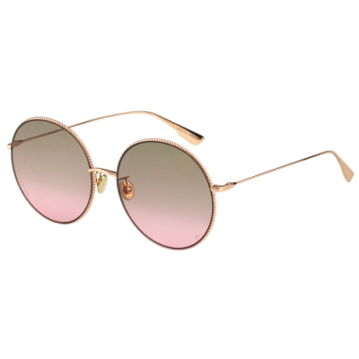 Dior 圓框 太陽眼鏡(玫瑰金)SOCIETY2F