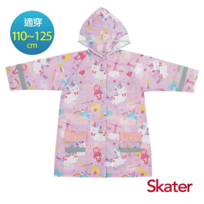 Skater兒童連身雨衣-獨角獸(粉)