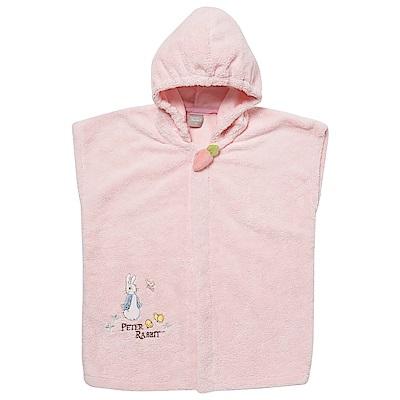 奇哥 比得兔吸濕快乾浴袍-粉(3~5Y)