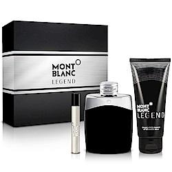 MONTBLANC萬寶龍 傳奇經典男性淡香水禮盒-送品牌紙袋