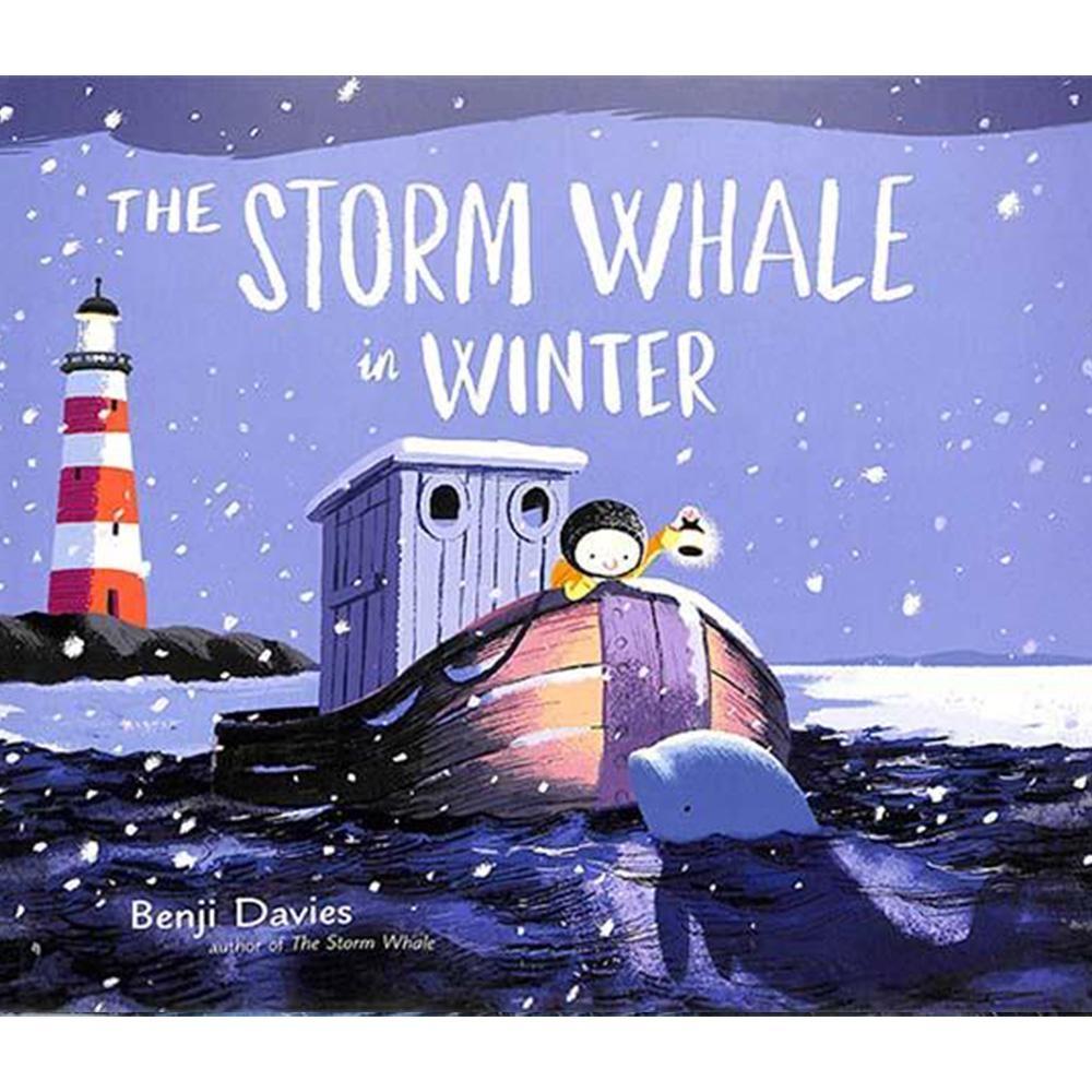 The Storm Whale In Winter 鯨魚朋友回來了精裝繪本(美國版)