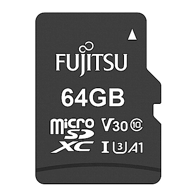 Fujitsu富士通 microSDXC U3 A1 V30 UHS-I 64GB記憶卡