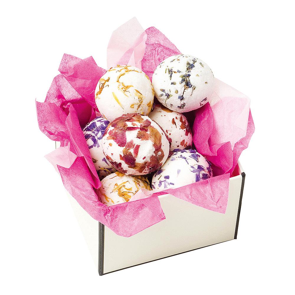 H&W英倫薇朵 浪漫七彩香浴球禮盒