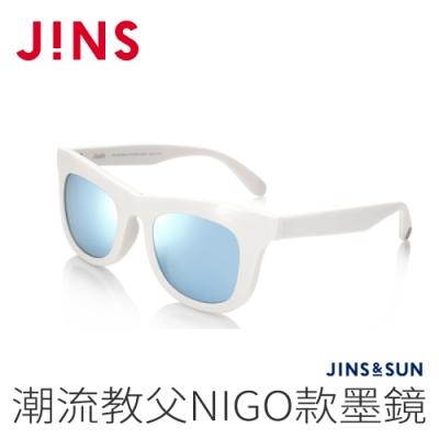 JINS&SUN 潮流教父NIGO款墨鏡(AMRF20A052)白色