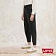 Levis 女款 上寬下窄 High Loose 復古超高腰牛仔寬褲 黑色基本款 天絲棉 形象款 product thumbnail 2
