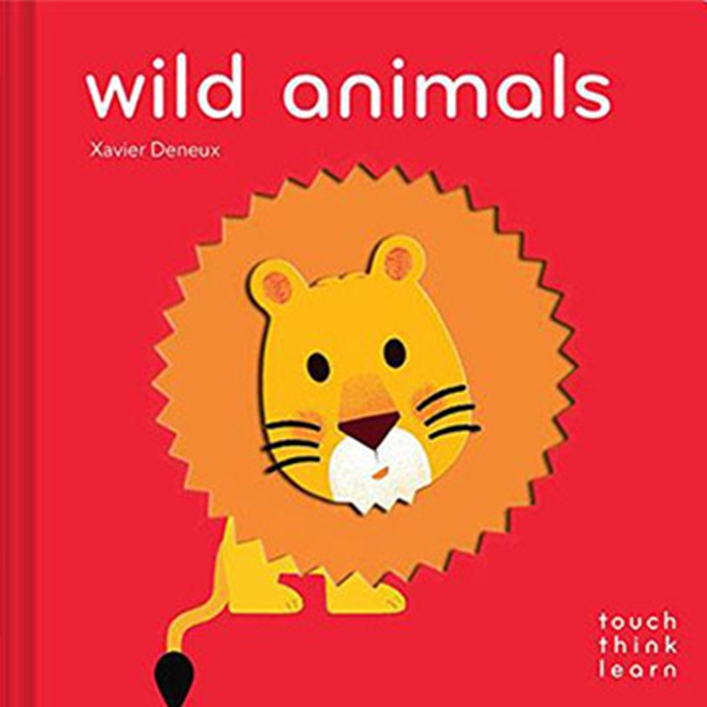 Touch Think Learn:Wild Animals 野生動物厚紙硬頁認知書