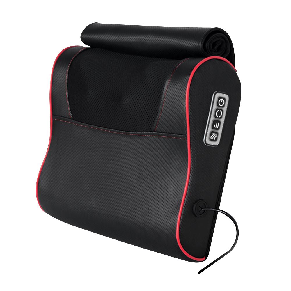 Mavoly 美樂麗 雙旋滾輪 熱敷舒壓按摩枕 按摩腰墊/按摩背墊 C-0012
