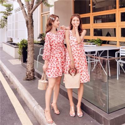 IMStyle 閨蜜裝點點印花連身裙(2款) 【正品】