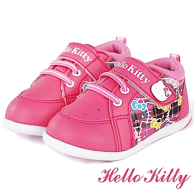 HelloKitty 輕量減壓吸震休閒童鞋-桃