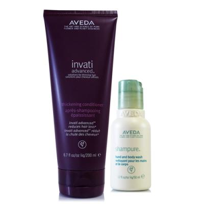 AVEDA 蘊活菁華潤髮乳200ml+沐浴乳或美體乳50ml(隨機出貨)