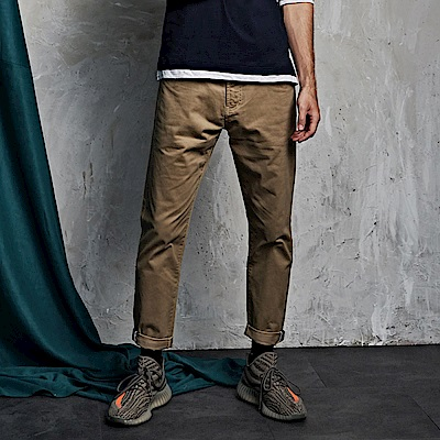 CACO-301直筒工作褲-情侶款(三色)-男【QNA060】