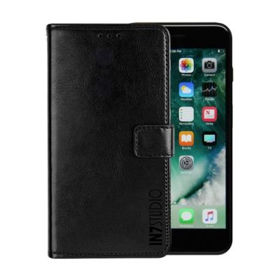 IN7 瘋馬紋 iPhone 8+/7+ (5.5吋) 錢包式 磁扣側掀PU皮套 手機皮套保護殼