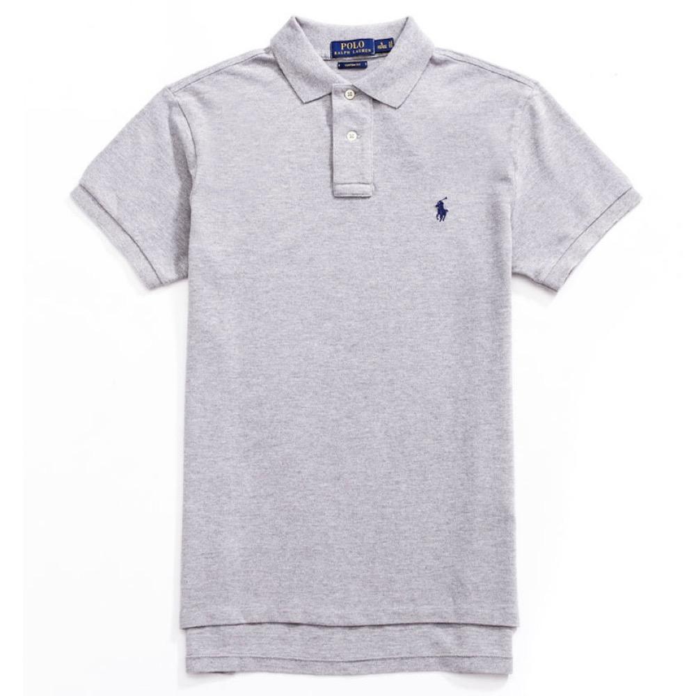 Polo Ralph Lauren 經典電繡小馬Polo衫(Custom)-灰色