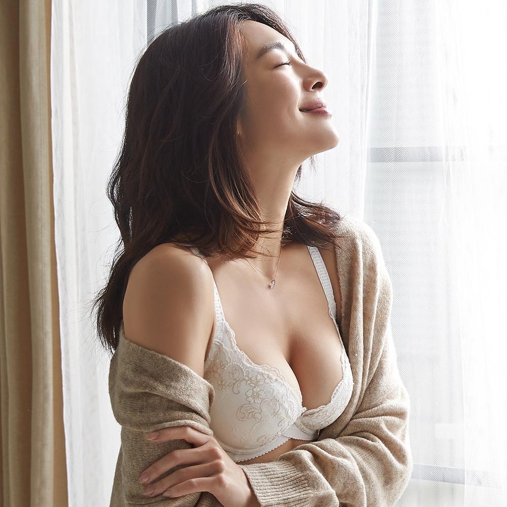 蕾黛絲-新減壓靠過來 B-F罩杯內衣 天使白