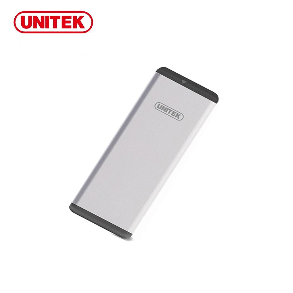 UNITEK USB3.0 M.2 SSD(NGFF/SATA)鋁合金外接盒