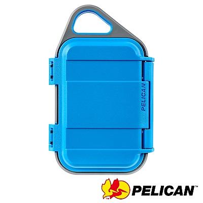 美國 PELICAN G10 GOCASE 微型防水氣密箱-(藍灰)