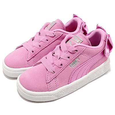 Puma休閒鞋Suede Bow運動童鞋