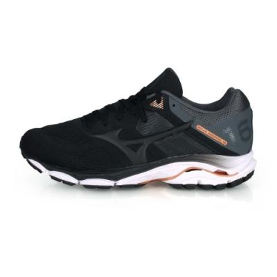 MIZUNO 男 慢跑鞋-WIDE INSPIRE 16 SW 黑灰棕
