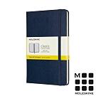 MOLESKINE 經典硬殼筆記本(M型)-方格藍