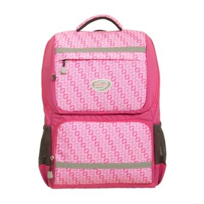 【IMPACT】怡寶輕量護脊書包- 炫彩菱紋系列-粉色 IM00368PK