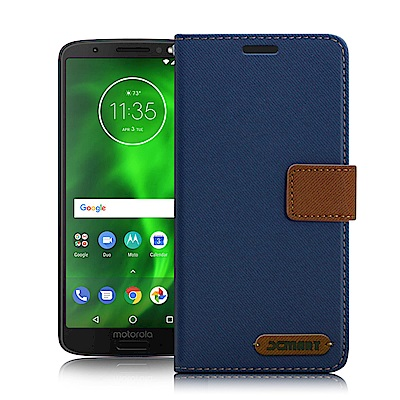 Xmart For MOTO G6 5.7吋 度假浪漫風皮套