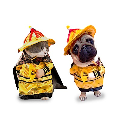 摩達客寵物系列♥宮廷皇帝變裝服飾(變身系列小貓小狗衣服)