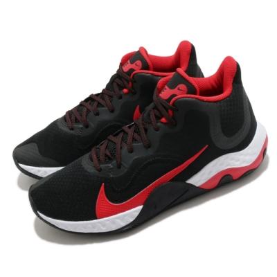 Nike 籃球鞋 Renew Elevate 運動 男鞋 輕量 舒適 支撐 避震 包覆 球鞋 黑 紅 CK2669003