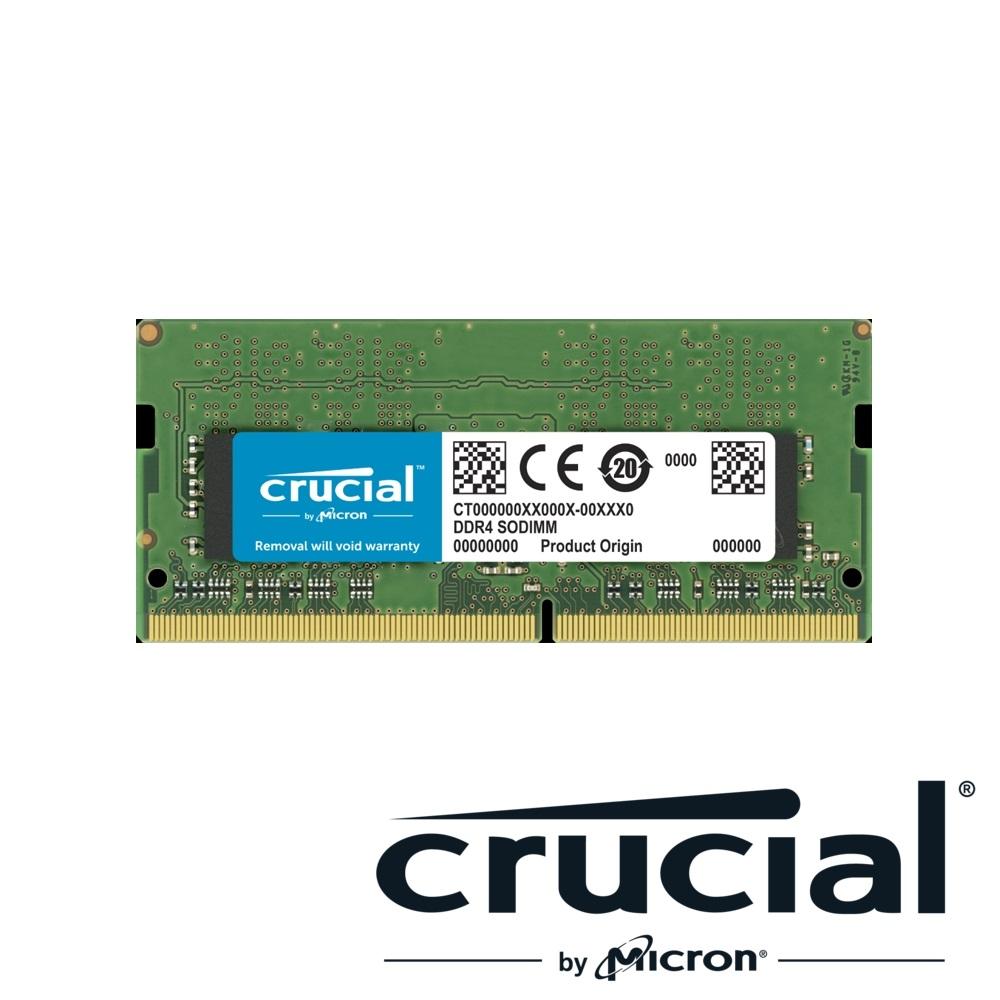 Micron Crucial NB-DDR4 2666/32G 筆記型記憶體RAM(適用PC第9代CPU以上)