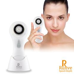 【Runve嫩芙】活性碳刷毛音波洗臉機潔顏器(ARBD-412)