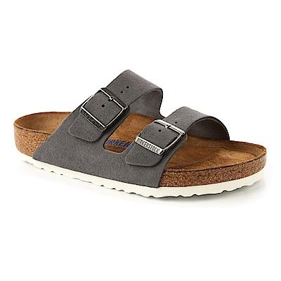 勃肯BIRKENSTOCK 1003728亞利桑那經典二條拖鞋(冷灰)