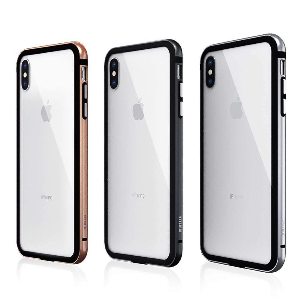 OVERDIGI iPhone XS Max 雙料鋁合金邊框