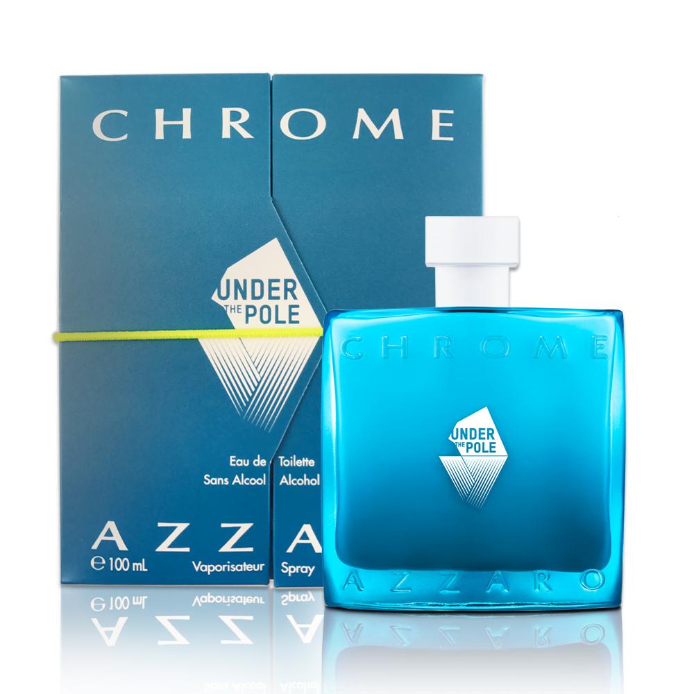 Azzaro Chrome 鉻元素男性淡香水極地探險版100ml(贈隨機品牌小香)