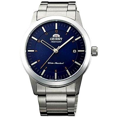 ORIENT  藍海之戀鏤空指針自動機械錶(FAC05002D0)-藍面x40.5mm