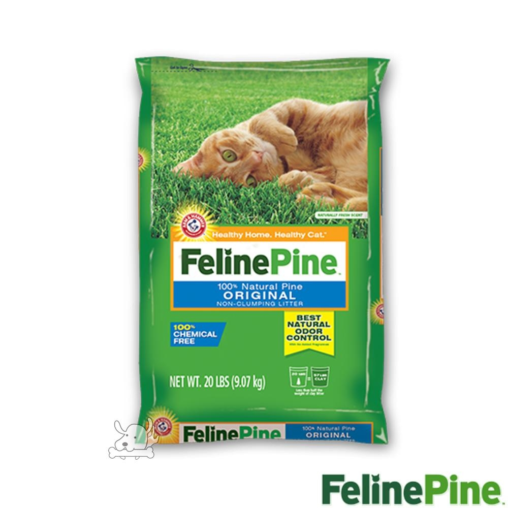 Feline Pine斑比 松木砂 20LB / 9.07kg x 1包