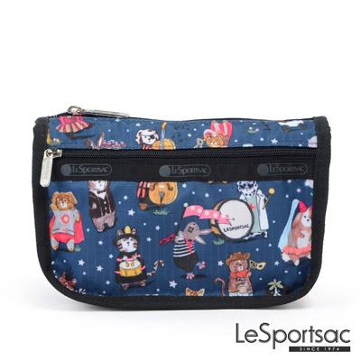LeSportsac - Standard雙拉鍊化妝包(面具舞會)