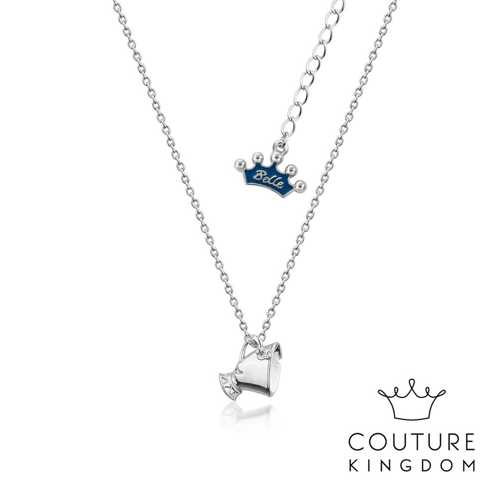 Disney Jewellery by Couture Kingdom 茶杯阿齊鍍白金項鍊