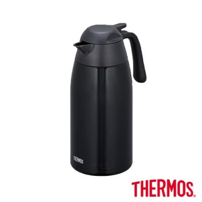 THERMOS膳魔師不鏽鋼真空保溫壺2.0L(THX-2000-K)(黑色)