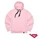 【PONY】長袖素色大學帽T  情侶款  T恤 中性款 粉紅色 product thumbnail 1