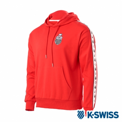K-SWISS Tape Swearshirts SNOOPY連帽上衣-男-紅