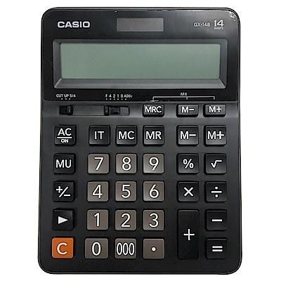 CASIO卡西歐 14位數桌上型計算機GX-14B