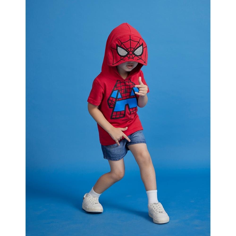 CACO-蜘蛛人造型帽T-童【B3DI072】