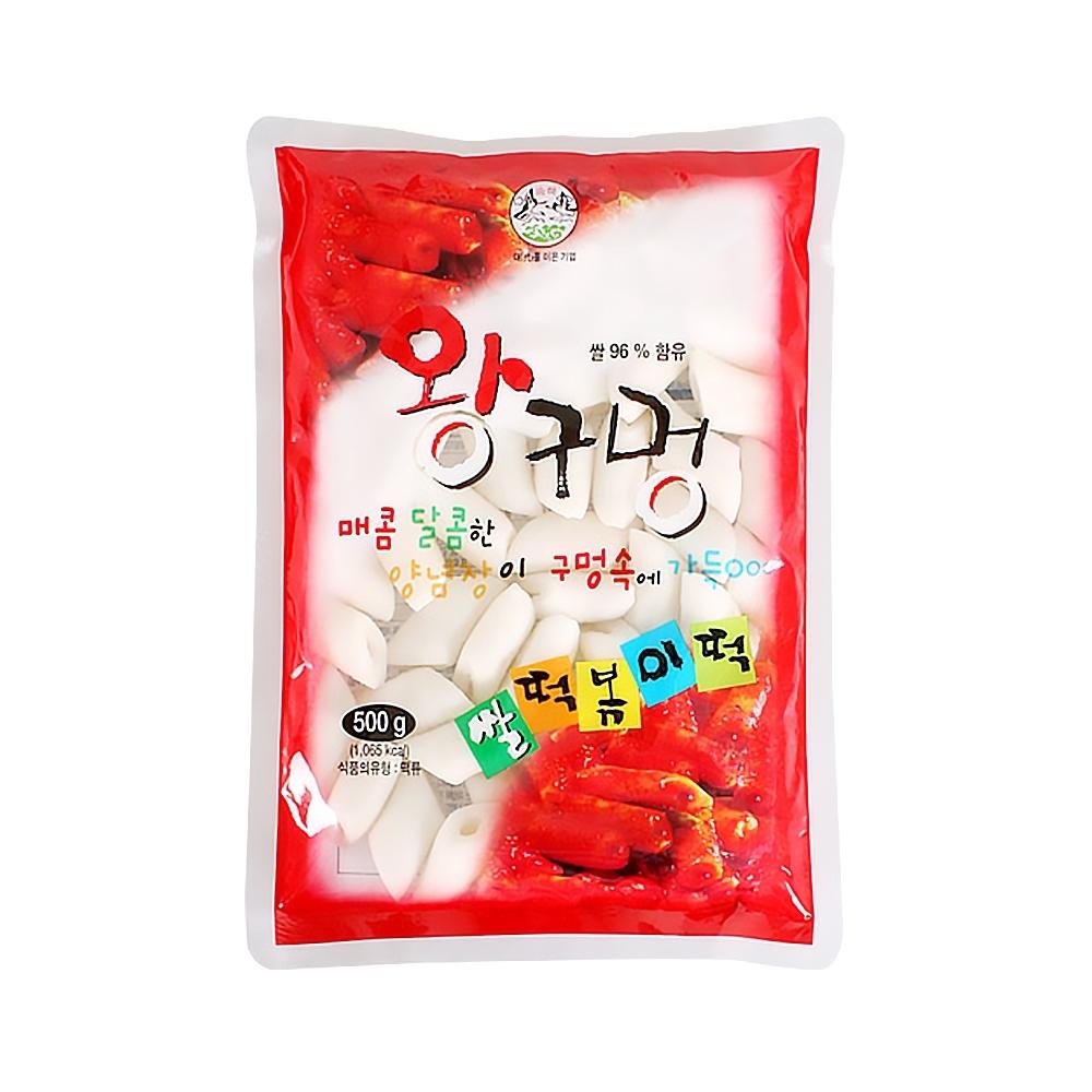 【韓味不二】韓國空心年糕(500g)