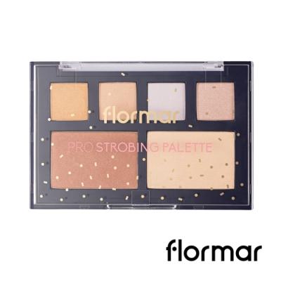 法國 Flormar-迷幻星夜-專業聚光燈立體打亮盤