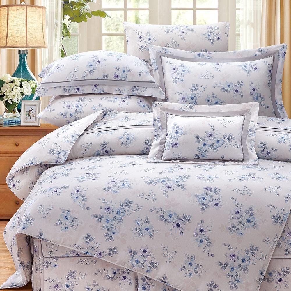 岱思夢   雙人  60支八件式天絲床罩組  朵洛莉