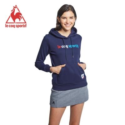 法國公雞牌連帽T恤 LWK2334239-女-藏青-