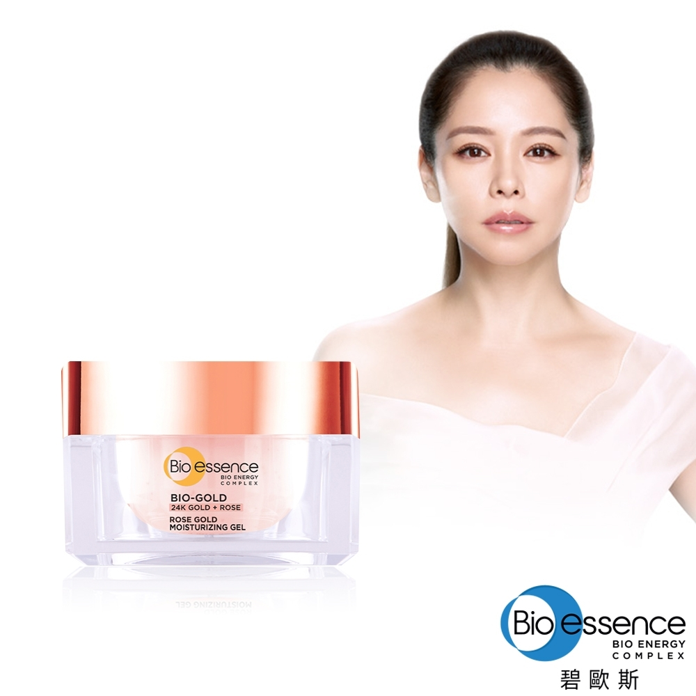 Bio-essence 碧歐斯 BIO金萃玫瑰黃金活顏保濕水凝霜40g